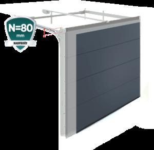 Brama segmentowa UniPro Nano 80